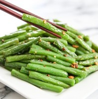 Regional Recipe - Garlic Green Beans