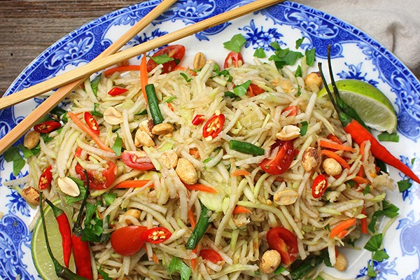 Regional Recipe - Green Papaya Salad