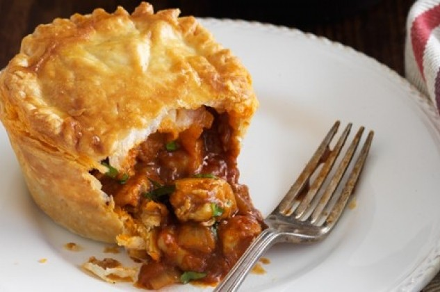 Regional Recipe - Butter Chicken Pies