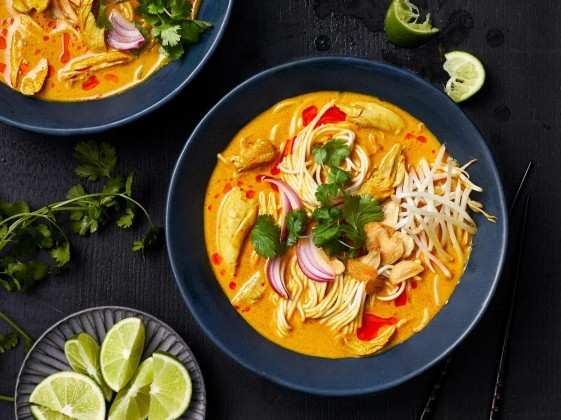 Recommended Recipe – Khao Soi (creamy coconut curry noodle soup)